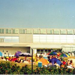 Kollektoranlage für öffentliches Wellenbad