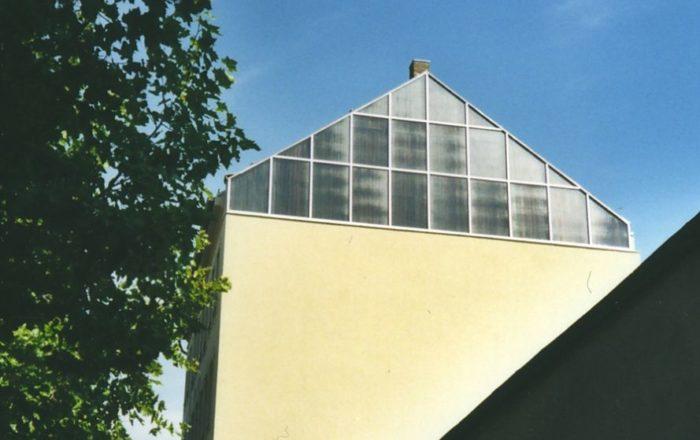 Fassadenkollektor Sonderfertigung