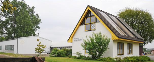 Betriebsgebäude und Produktion CO2neutral