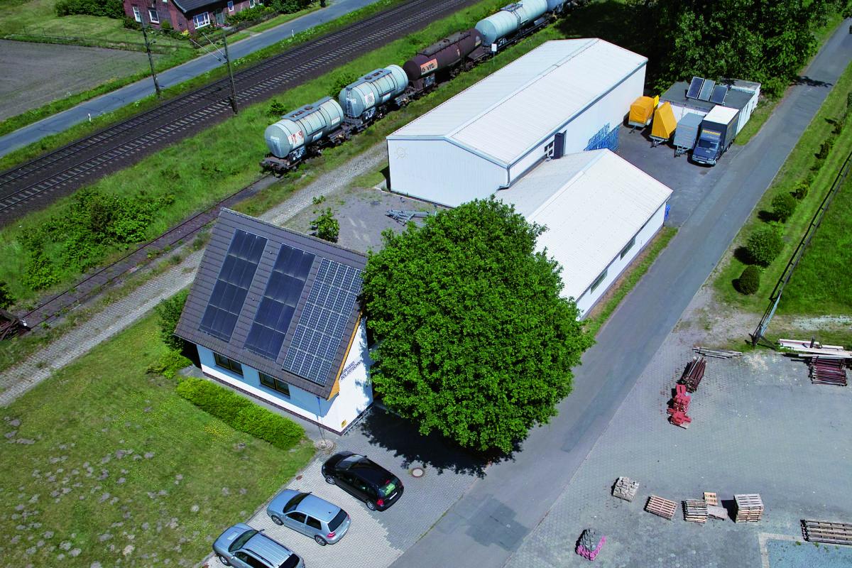 Luftaufnahme vom RST Werk